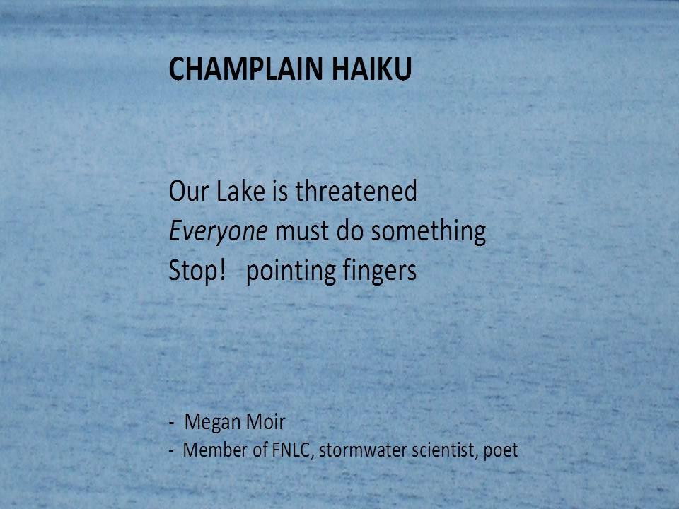 Our Haiku Ndash Friends Of Northern Lake Champlain